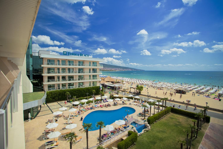 Dit evrika beach club hotel солнечный берег